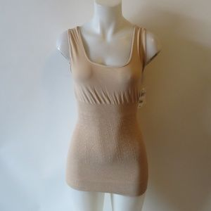 NWT NYDJ NOT YOUR DAUGHTERS JEANS NUDE TANK 1X *
